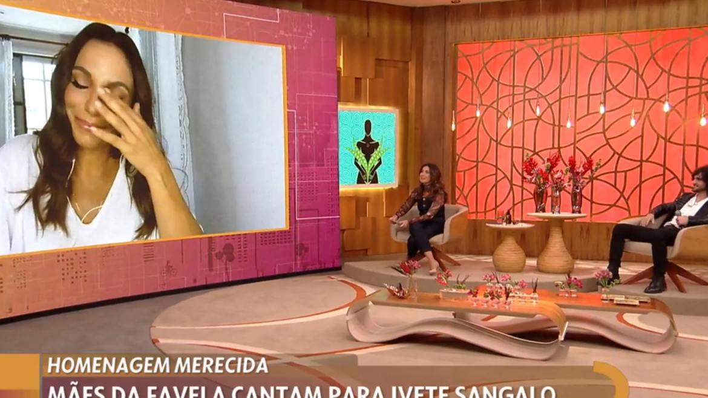 Fátima Bernardes presta homenagem à Ivete pelo seu aniversário (imagem: reprodução)
