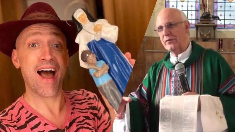 Paulo Gustavo era devoto e ajudava financeiramente nas causas sociais, segundo Padre Lancellotti (montagem: Fashion Bubbles)