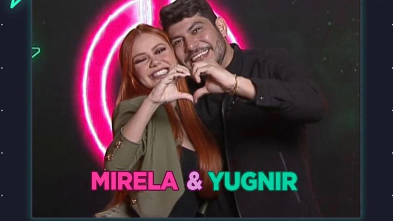 Mirela Janis participou do De Férias com o Ex e agora está com o marido, Yugnir, no Power Couple (imagem: divulgação)