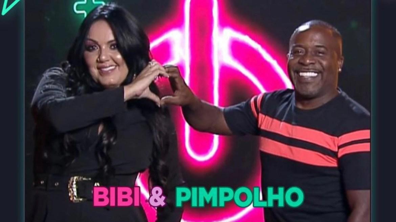O cantor do Art Popular, Pimpolho e sua esposa Bibi Pimpolho estão de olho no prêmio do reality (imagem: divulgação)