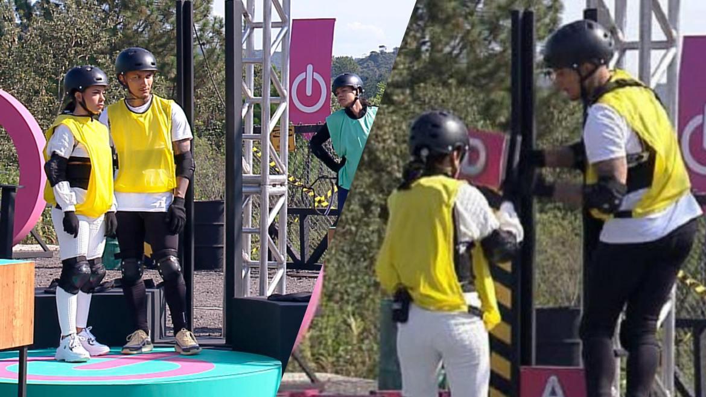 Mc Mirella e Dynho vencem a primeira prova de casais do Power Couple (montagem: Fashion Bubbles)