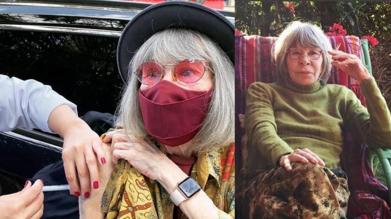 Rita já tomou a vacina contra Covid-19. A cantora vive em um sítio em SP (montagem: Fashion Bubbles)