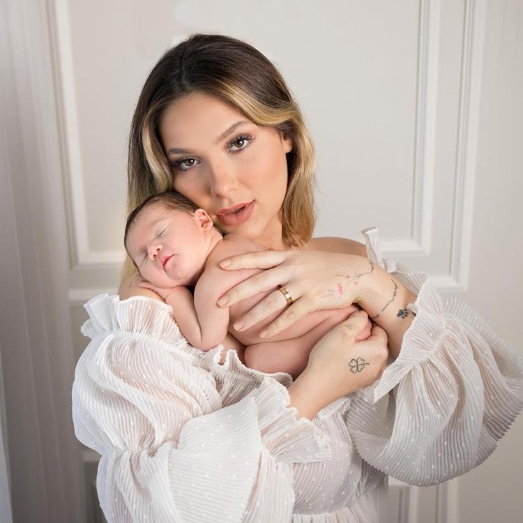 Virgínia, mãe da neta do cantor Leonardo.