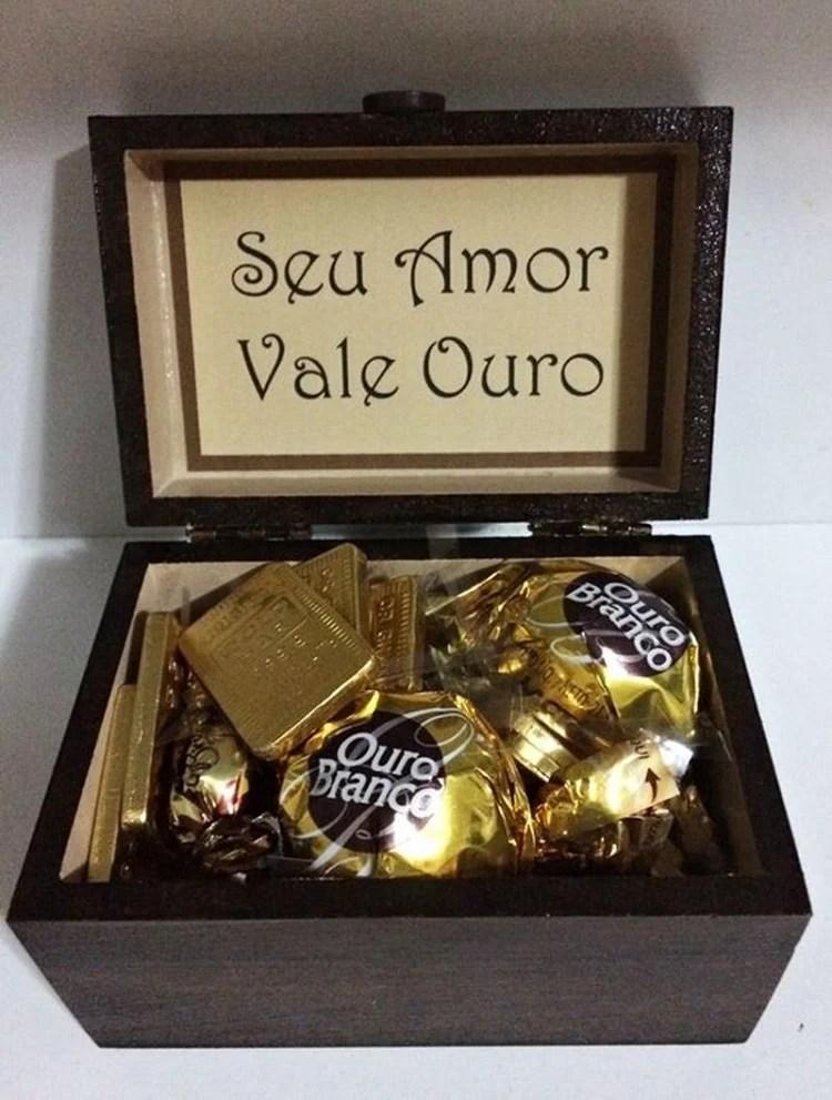 caixa de chocolate