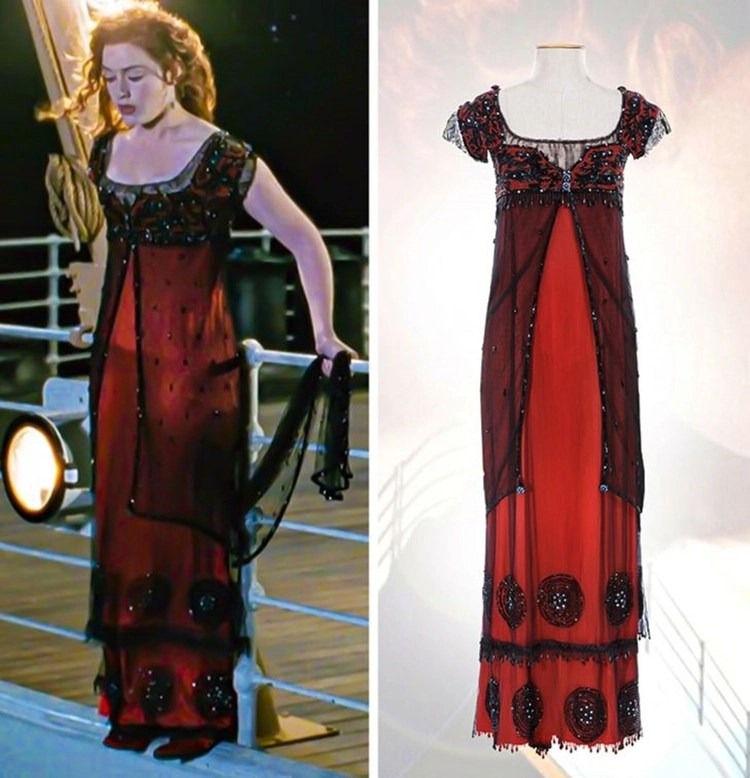 Vestidos da telinha: Titanic, 1997.