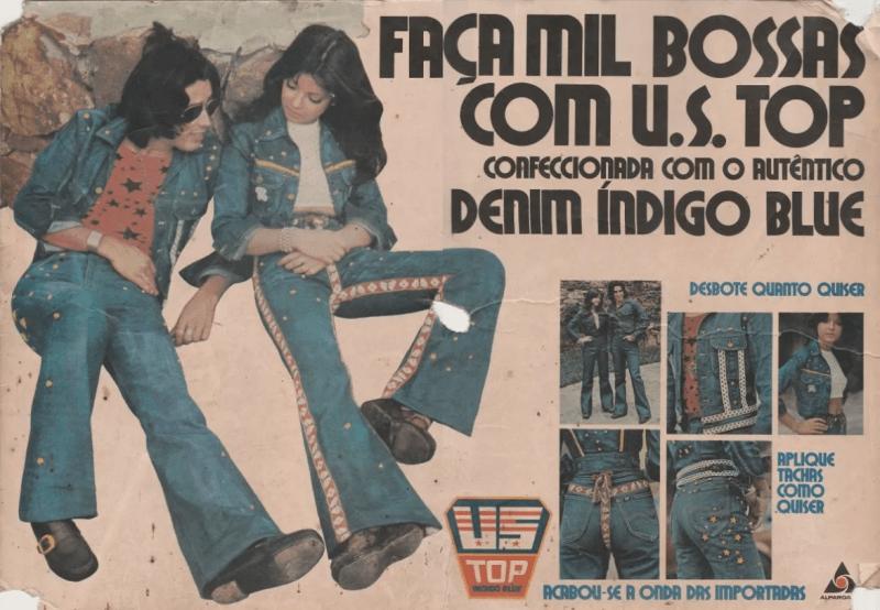 Publicidade da US TOP nos anos 70.