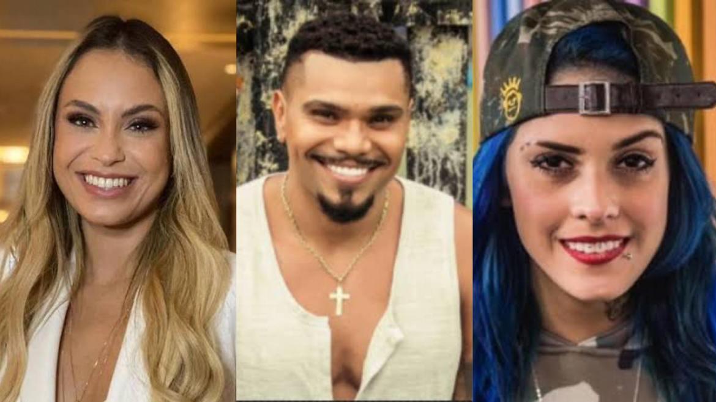 Sarah Andrade, Naldo Beni e Tati Zaqui podem integrar elenco de A Fazenda 13 (montagem: Fashion Bubbles)