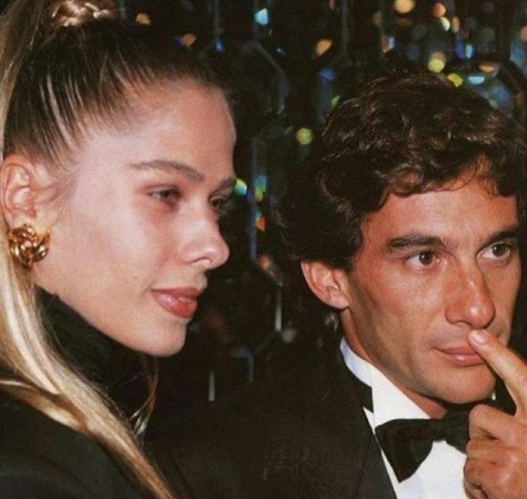 Adriane Galisteu e Ayrton Senna