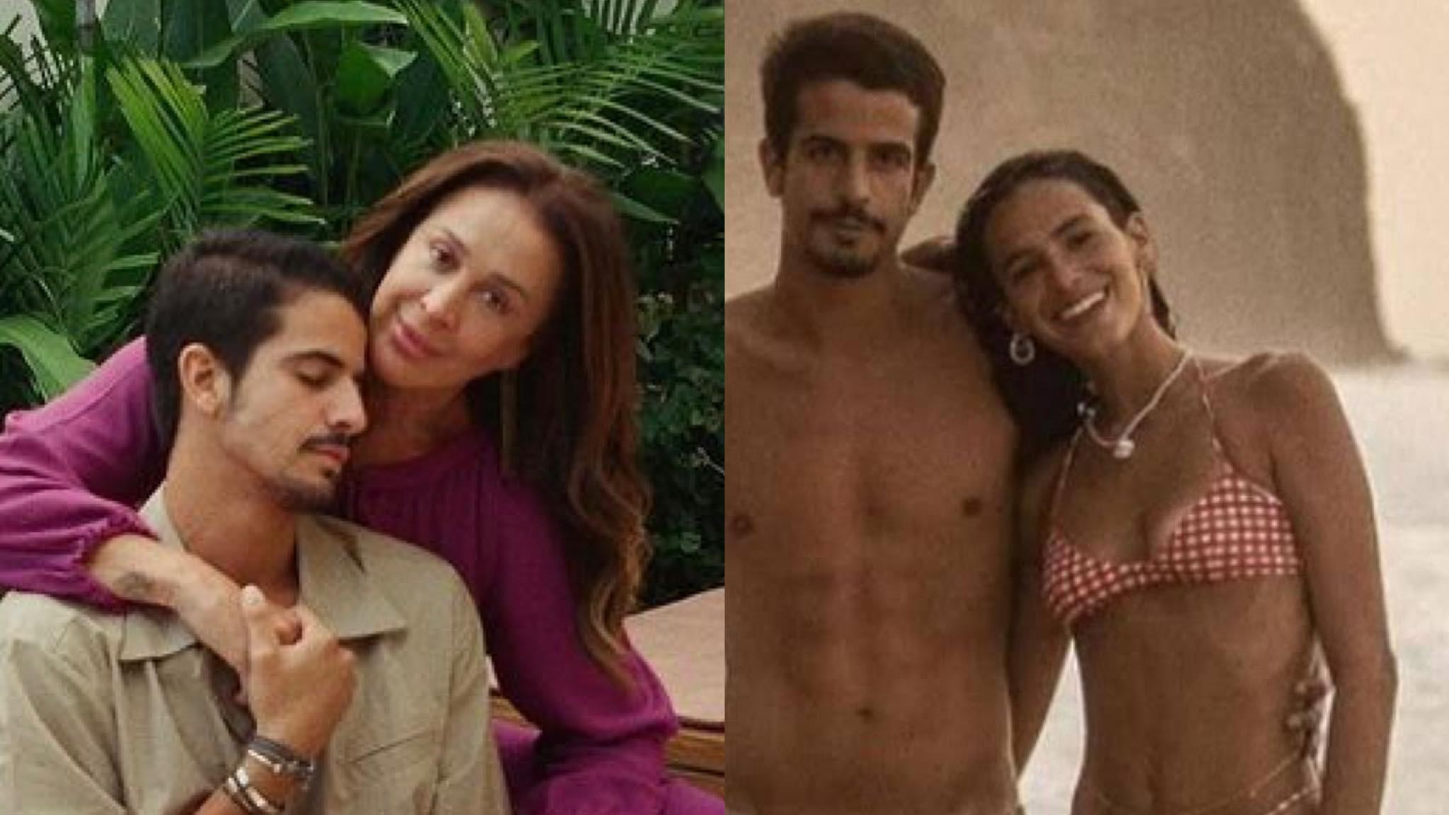 Claudia Raia é sogra de Bruna Marquezine desde abril (montagem: Fashion Bubbles)