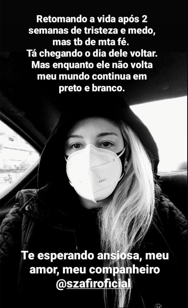Esposa de Luciano Szafir