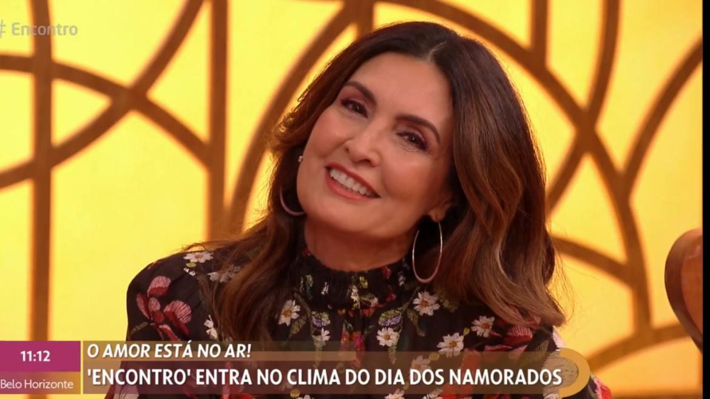 Fátima Bernardes responde com amor o depoimento de Túlio Gadelha (imagem: reprodução/ Globo)