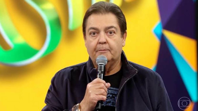 Faustão está internado em SP. O apresentador passou mal na manhã dessa quinta-feira 10/06 (imagem: reprodução: Globo)