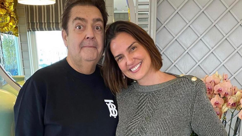 Faustão e Lu Cardoso estão casados desde 2002 (imagem: Instagram)