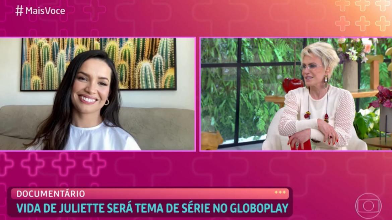 Ana Maria Braga entrevista Juliette no Mais Você (imagem: reprodução)