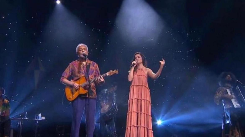 """Gil e Juliette Freire cantam diversos sucessos como """"Esperando na Janela"""" (imagem: Instagram)"""
