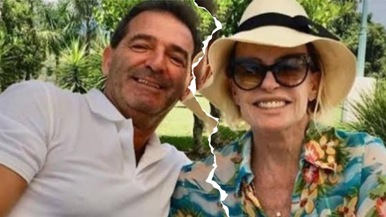 Johnny Lucet, marido de Ana Maria Braga fala sobre os boatos de separação (montagem: Fashion Bubbles)