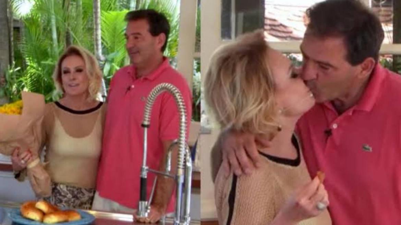 Johnny Lucet e Ana Maria Braga se casaram em fevereiro de 2020 (imagem: reprodução)
