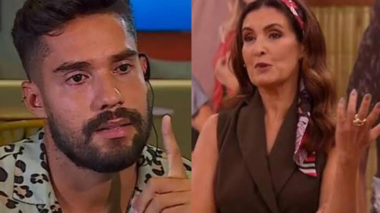 Bil esclarece que está solteiro e deseja sorte para Carol Peixinho (imagem: reprodução)