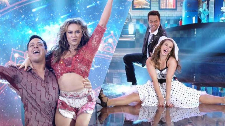 Paolla Oliveira passou para a segunda fase do Super Dança dos Famosos (montagem: Fashion Bubbles)
