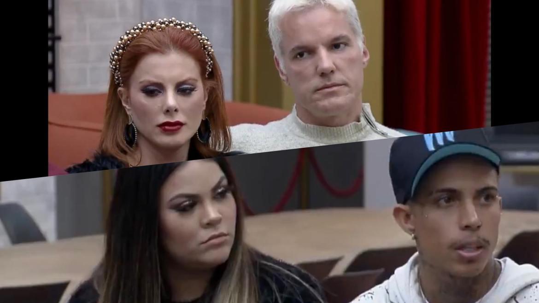 Bruno e Deborah e Mari e Matheus são os casais mais populares do Power Couple. Fonte: Montagem /Fashion Bubbles