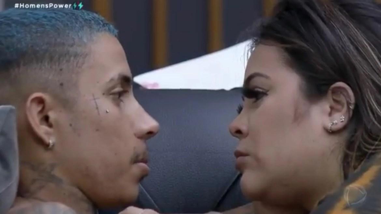 Matheus declara guerra à Bruno e fica do lado da esposa Mari após dinâmica do Power Couple (imagem: reprodução)