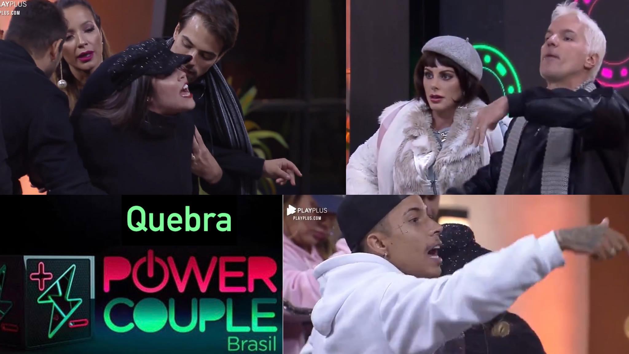 Power Couple tem briga generalizada causada em Jogo da Discórdia (montagem: Fashion Bubbles)