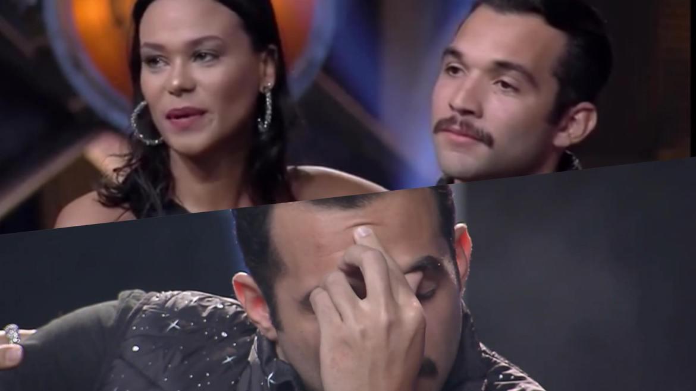 Carol e Jonjon são o quinto casal eliminado do Power Couple (montagem: Fashion Bubbles)