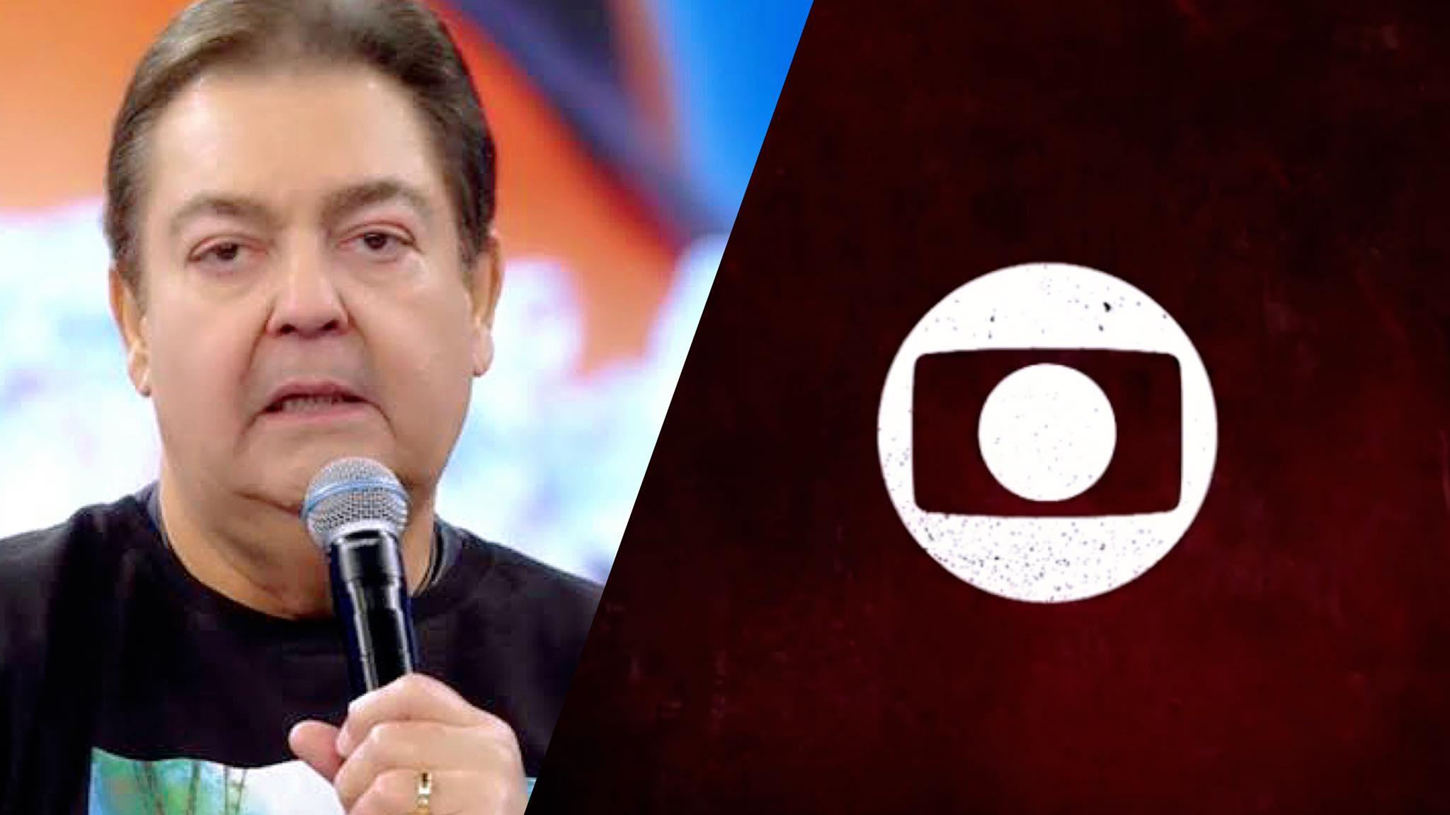 Faustão e Globo terminam a relação com direito a DR nos bastidores (montagem: Fashion Bubbles)