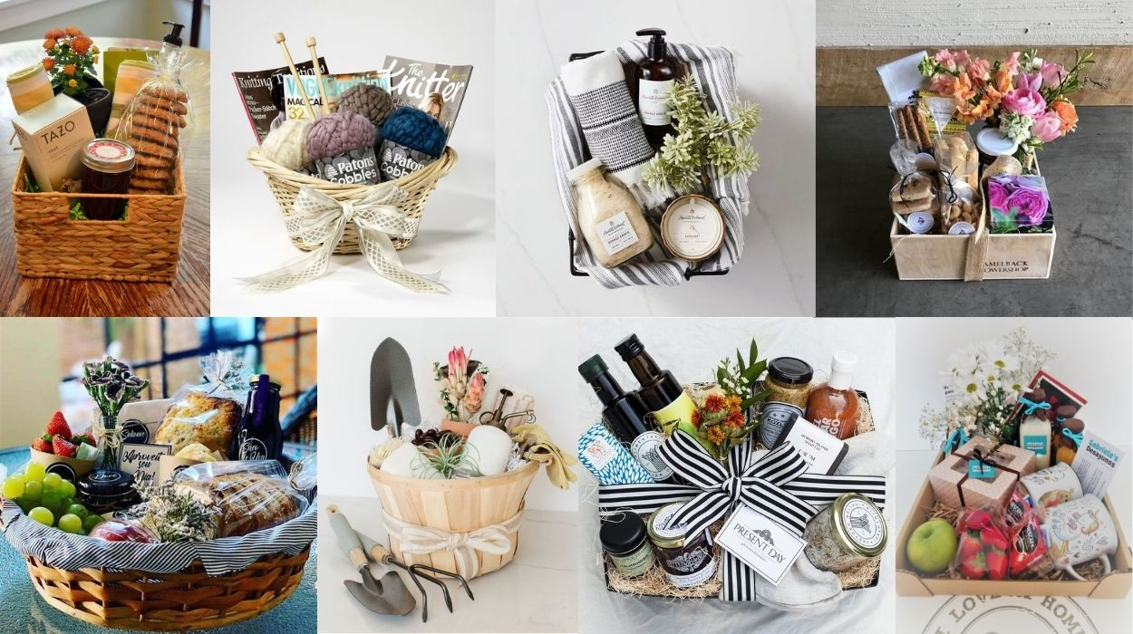 oito opções de cesta para o Dia dos Avós