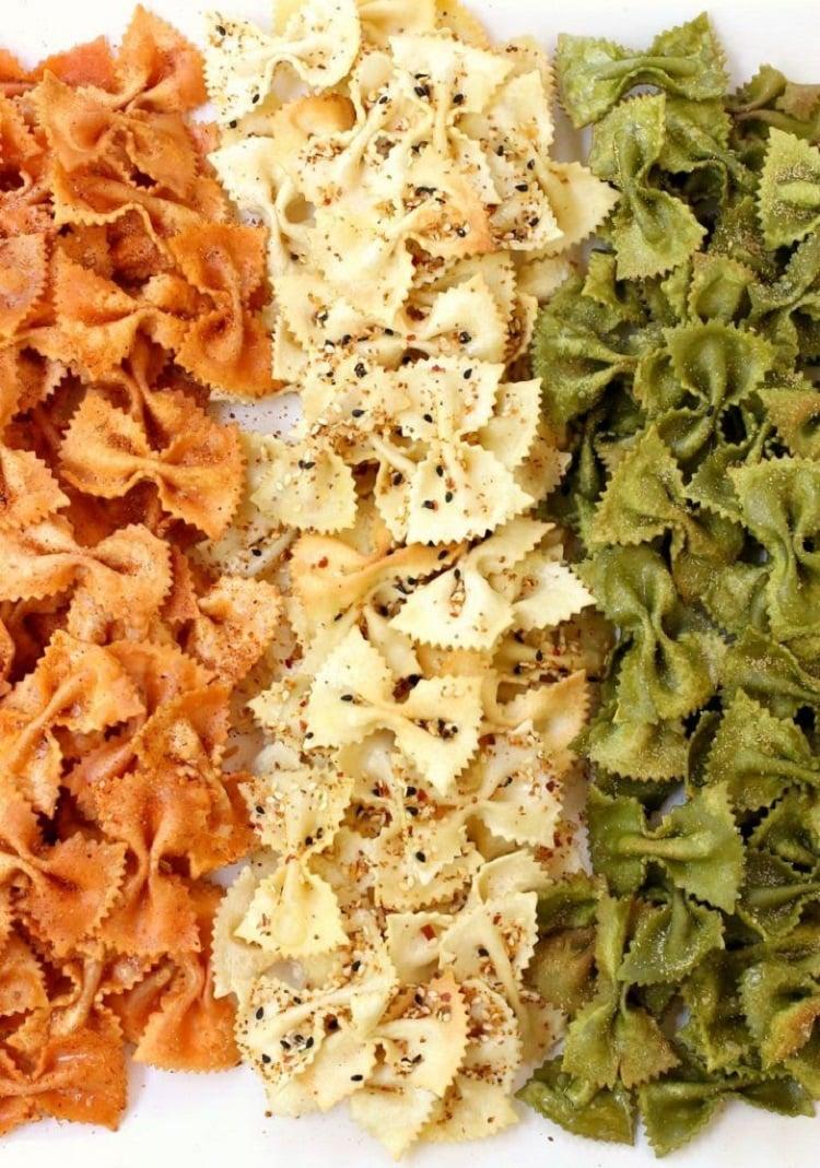 Pasta chips veganos