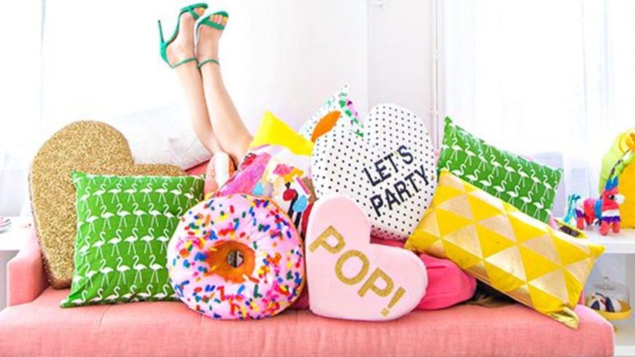Formatos de almofadas.