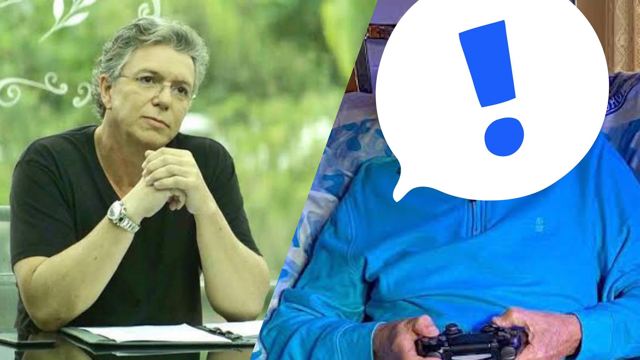 Ator famoso da Globo diz não à convite de Boninho para entrar no BBB 22. Fonte: Montagem/Fashion Bubbles
