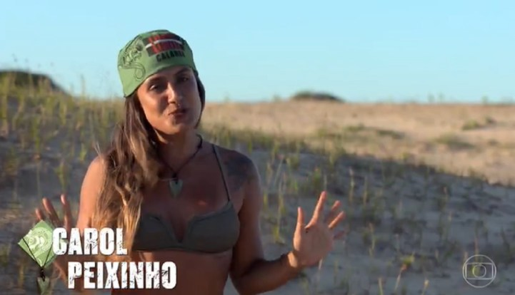 Carol Peixinho ganha prova da Imunidade antes das tribos se desfazerem