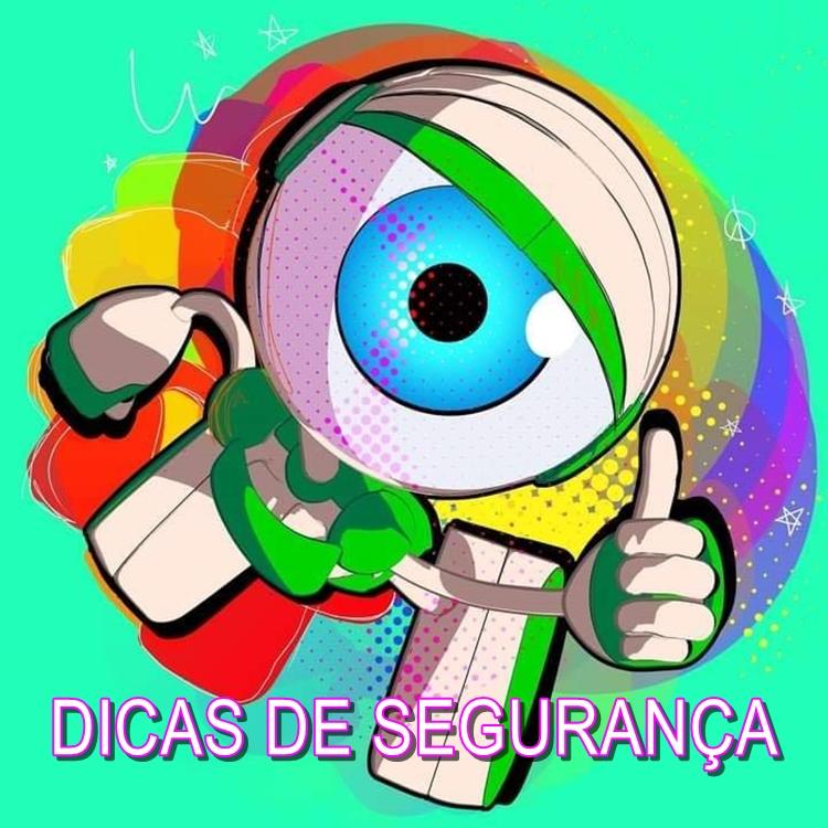 Foto do robozinho do Big Brother Brasil.