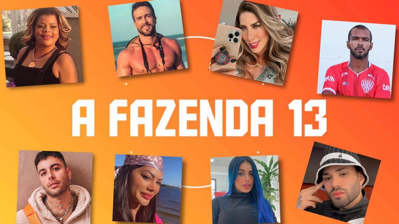 Participantes de A Fazenda 13 enfrentarão roça no primeiro dia. Fonte Montagem/ Fashion Bubbles