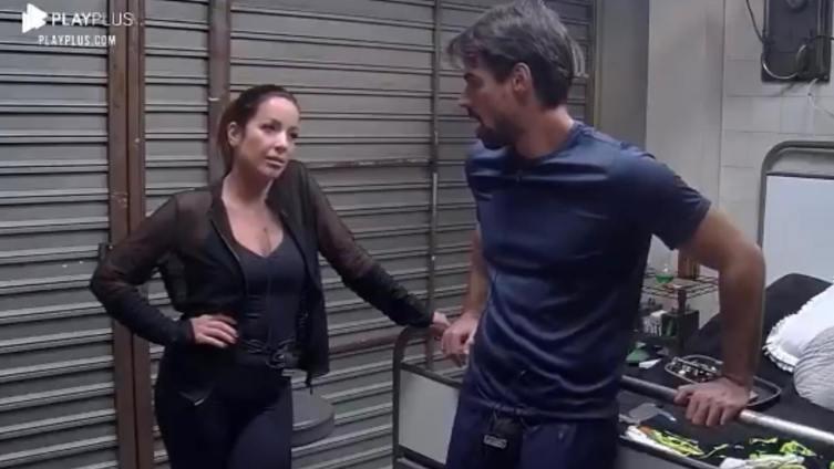 Renata e Leandro foram eliminados na décima DR do Power Couple