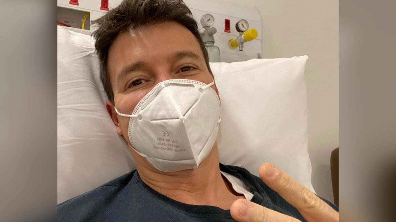 Rodrigo Faro está internado com coronavírus. O apresentador trocou farpas com Zezé Di Camargo. (imagem: Instagram)