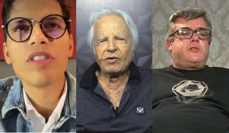 Roger Moreira, Cid Moreira e Rodrigo Radenzev Simões Moreira.
