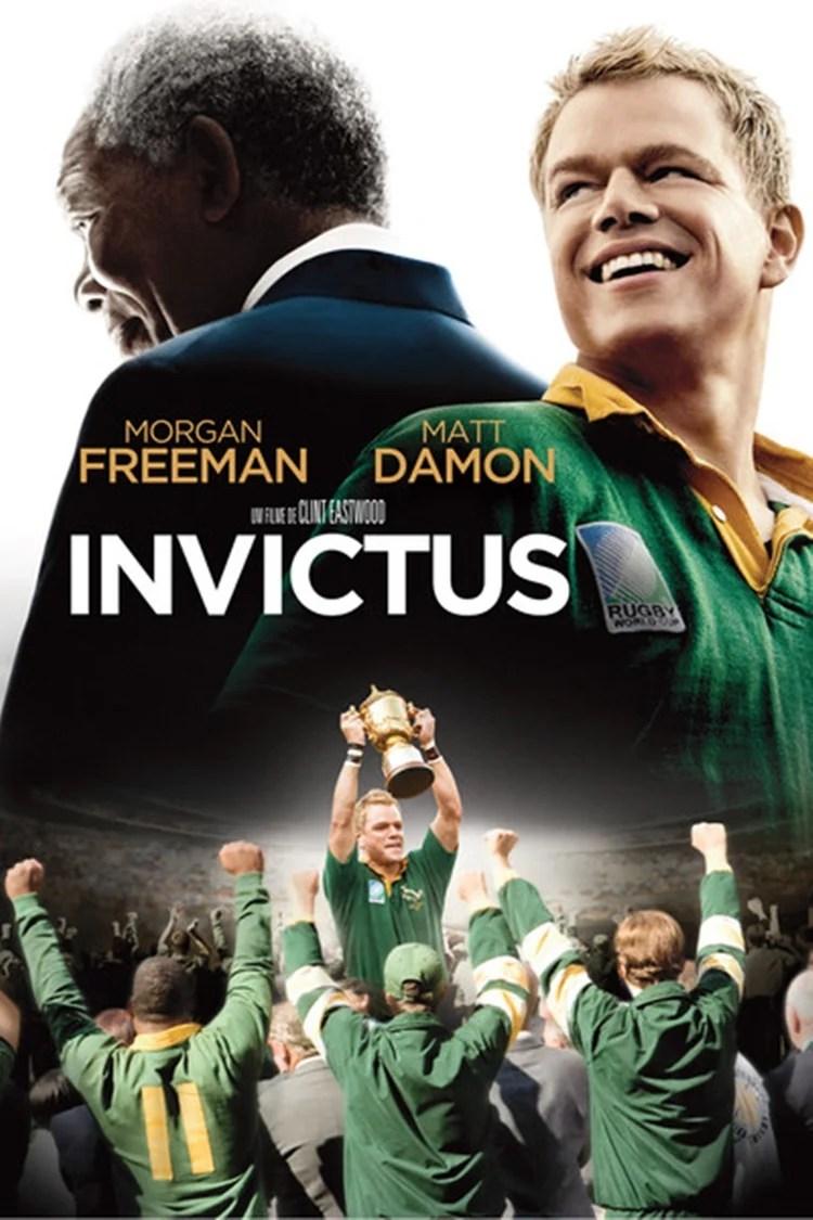 """Foto da capa do filme """"Invictus""""."""