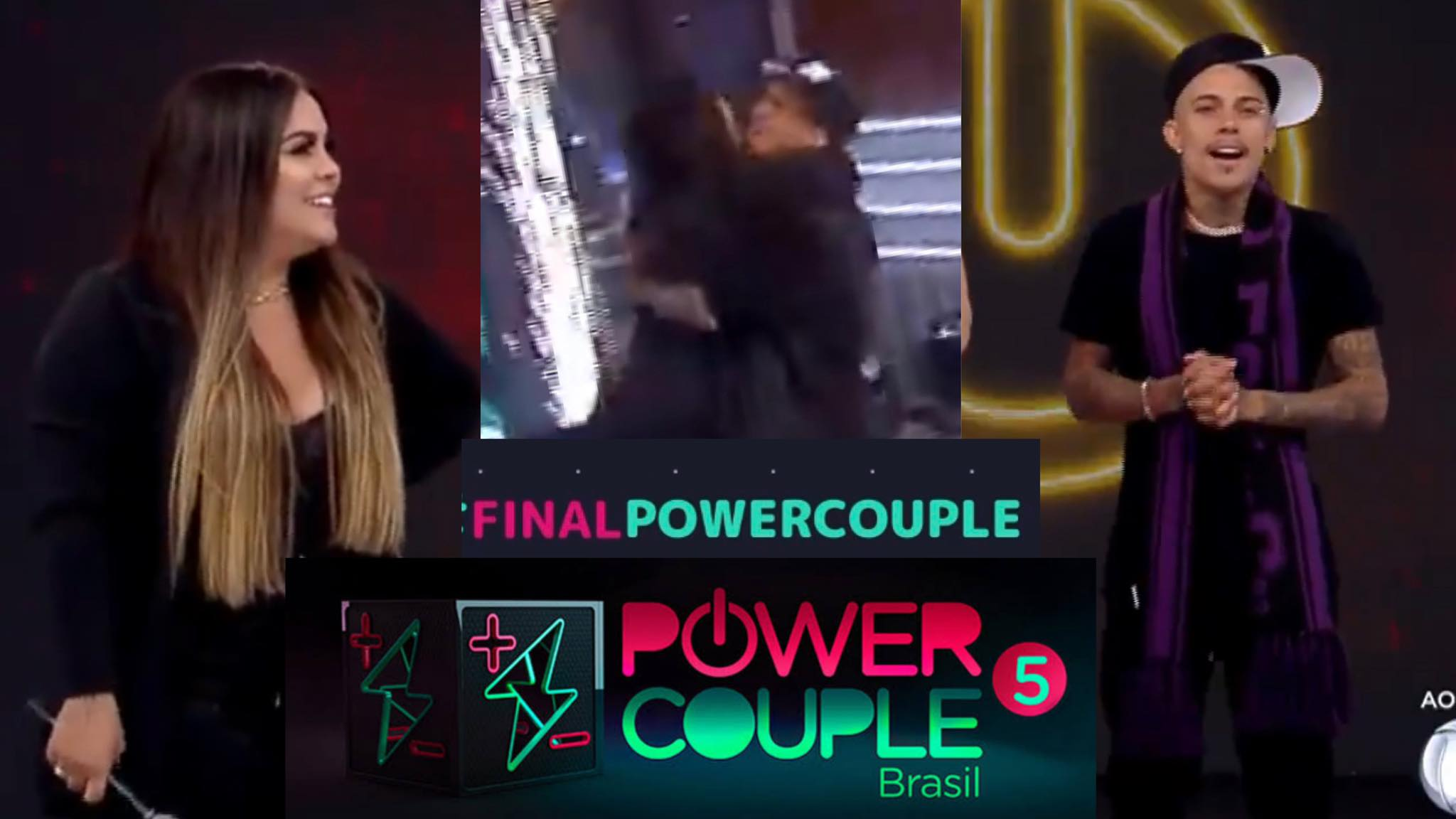 Mari e Matheus vencem a final do Power Couple. Fonte: Montagem/ Fashion Bubbles