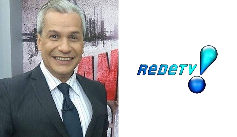 Foto de Sikêra Jr e logo da RedeTV!