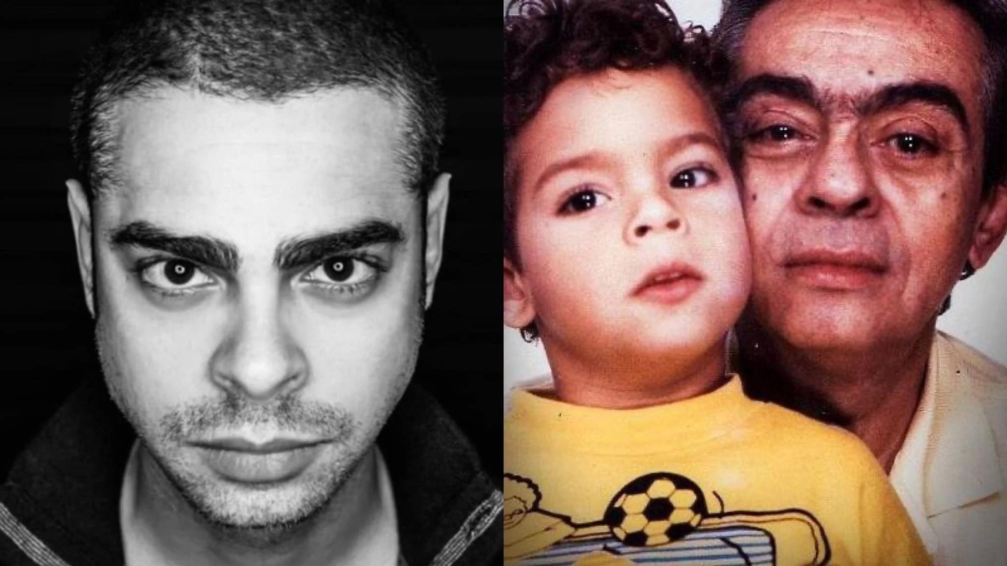 Morre filho do Chico Anysio, Cícero Chaves aos 39 anos no RJ (montagem: Fashion Bubbles)