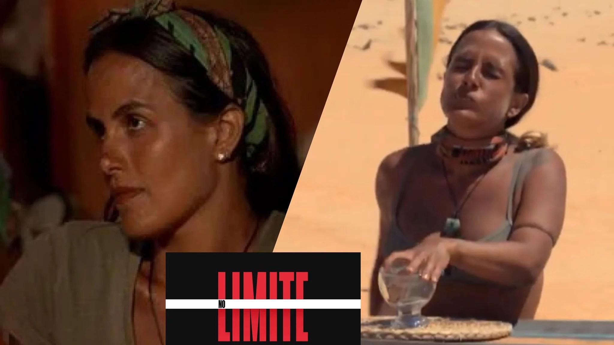 Carol Peixinho come barata viva mas acaba eliminada de No Limite. Fonte: Montagem/Fashion Bubbles