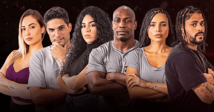 Seis semifinalistas do No Limite 2021