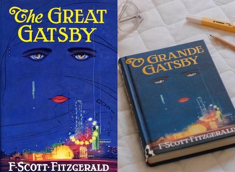 Foto do livro O Grande Gastby.