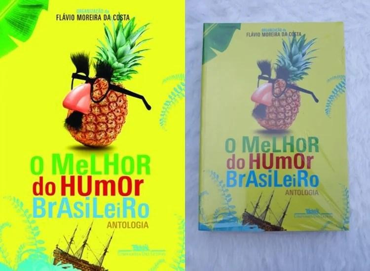 Foto do exemplar O Melhor do Humor Brasileiro.