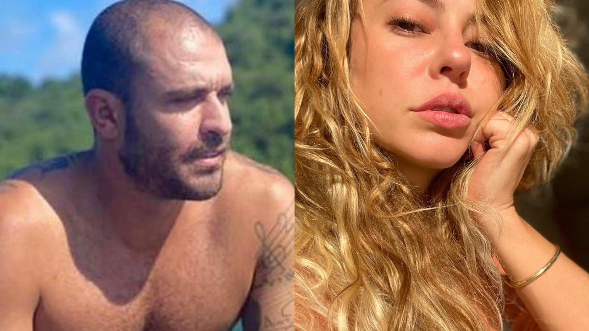 Diogo Nogueira faz tbt e Paolla Oliveira reage. Fonte: Montagem/ Fashion Bubbles