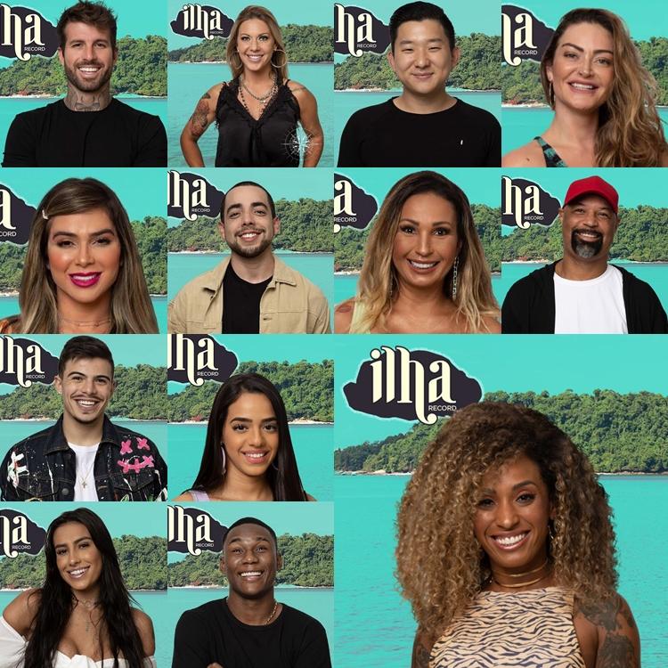 Foto com os 13 participantes do programa.