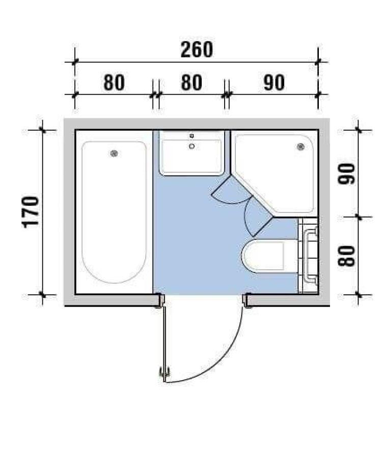 Planta baixa de banheiro com banheira.