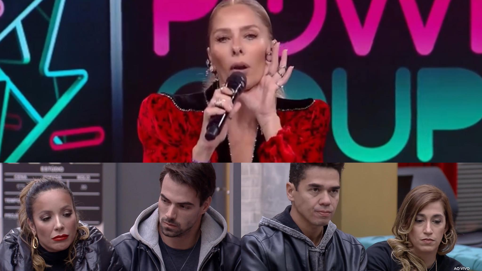 Adriane Galisteu estreia nova dinâmica durante a formação da 8ª DR no Power Couple (montagem: Fashion Bubbles)